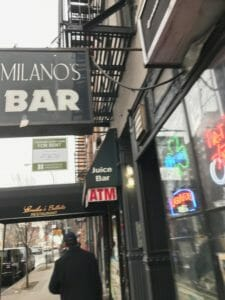 NYC East Village Bar Milanos