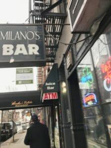 NYC East Village Bar Milanos