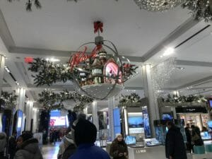 NYC Macy's Christmas Inside