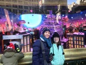 NYC Macy's Christmas Window Display