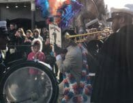 A Street Parade in New Orleans